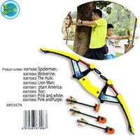 air weapons - Wolverine Zingw Big Size Air Huntress Fire Tek Bow Toy Game Kids Outdoor Play Gift Shoot With Refills Whistle Arrows Kids Toy