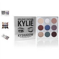 Wholesale whosale New arrival New KYLIE Holiday Edition Palette Kylie shadow color Eye Shadow palette