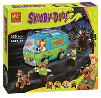 bale baby - 305pcs bale Scooby Doo The Mystery Machine building blocks legoe toys Minifigures set bricks baby boy kid legoe toys gift