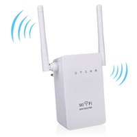 Wholesale New WIFI Repeater Router M Dual Antennas Signal Booster Wireless N wifi Repeater N B G Network Roteador Wifi EU US plug