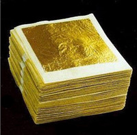 Wholesale K Real Edible Beauty mask gold leaf foil gold X4 cm