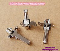 Wholesale 10PCS Brand new mm phase wire micro stepping motor with screw rod V V slide stepper motor new in stock