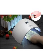 Wholesale UVLED SUN9c SUN9s Professional UV LED Lamp Nail Dryer Polish Machine for Curing Nail Gel Art Tool new arrival