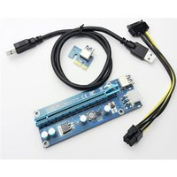 Wholesale USB3 PCI E Express Extender x x Riser Card AdapterTransfer card graphics adapter cable