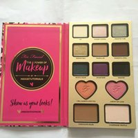 Wholesale HOT The Power of Makeup Eyeshadow Face Cosmestic Palette Too Blush Bronzer Highlighter Shadow Palette DHL Free