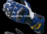 Wholesale RS Taichi NXT047 GPWAX racing gloves Carbon Genuine Leather Long Design Automobile Race Motorcycle Gloves Guantes