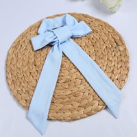 Wholesale Hanfu special hair band Chinese antique style cotton plain elegant hair with ropes available daily