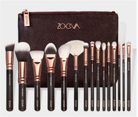 Wholesale 2016 COMPLETE MAKEUP BRUSH Professional Luxury Set ZOVEA Tools Kit ZOEVA ROSE GOLDEN Powder Blending brushes Onlinesky
