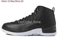 Low Cut Unisex Spring and Fall Top Quality Retro 12 Men Basketball Shoes 12s OVO White 12s Gym Red Gamma Blue Wolf Grey Flu Game Athletics Sneakers With Box