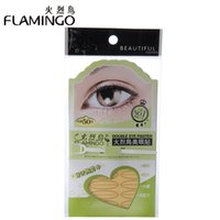 beauty flamingos - Beauty Brand Flamingo medical adhesive Invisible double fold eyelid Paste Breathability Double Eyelid Tape Trial Stiker