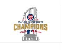 Wholesale NEW designs coming ftx5ft world series champions Chicago Cubs flag by good quality polyester fabric