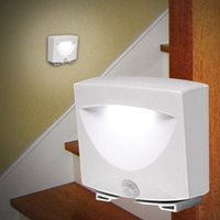 Wholesale Mighty Light Wireless Motion Sensor Activated LED Night Light Indoor Outdoor Lamp For Stairs Corridor Closet Hallway