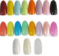 Wholesale 500pcs per Hot Sales Full Nail French Tips Natural Finger False Fake Art Cover Manicure
