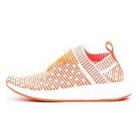 Cheap Originals Famous NMD Ville Sock CS2 orange Wave point BA7212 Chaussures de sport pour femmes Taille 36-39