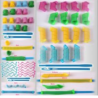 Wholesale DIY Amazing Women Hair Curlers Leverag Hair Curler Roller Circle Girls Bridal Hair Styling Perm long Tools