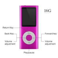 Wholesale MP3 Player MP4 Player Hotechs MP3 Music Player with GB Memory SD card Slim Classic Digital LCD Screen MINI USB Port with FM Radi