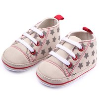 baby cirb - New Fashion Infant Toddler Baby Shoes First Walkers Soft Soled Star Girl Boy Kids Footwear Shoes Cirb Bebe Sports Sneakers