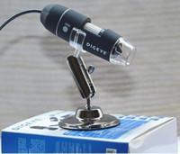 10PCS électronique pratique 2.0MP USB 8 LED Appareil photo numérique Microscope Endoscope loupe 50X ~ 500X caméra vidéo de mesure de grossissement