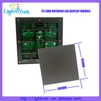 Wholesale hight brightness p5 smd outdoor led display with smd scan mm