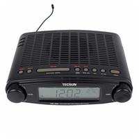 ats usb battery - Original TECSUN MP FM Radio Stereo DSP Radio USB MP3 Player Desktop Clock ATS Alarm Portable Radio Receiver LED DIsplay