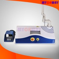 Wholesale Co2 Cycling - Fast Shipping LCD Screen CO2 Laser 3mW Light Surgical System Anti Wrinkle Beauty Equipment With Water Closed-cycle Cooling System Footswitch