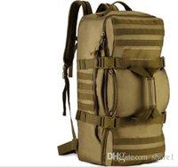 Wholesale 60L Outdoor Camping Large Capacity Sport Backpacks Shoulder Bag Hiking Backpack Athletic Sport Men Travel Bag D038