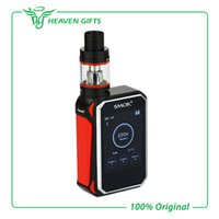 Wholesale Original Smok G Priv W Touch Screen Kit with GPriv Box Mod Vape and ML TFV8 Big Baby Tank Atomizer Vaprozier