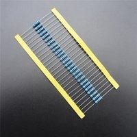 Venta al por mayor-50pcs RoHS plomo libre resistor de la película de metal 1W vatios 2,2 ohmio 1% DIY KIT PARTE resistor paquete de resistencia