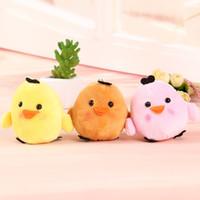 bamboo chick - Hang the chicken of coloured chicks cocks mobile phone key bag wedding gift