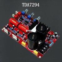 al por mayor ne5532 dual-Freeshipping YJ dual 2.0 tablero del amplificador del cahnel NE5532 + TDA7294 (con el tono) 2 * 85W