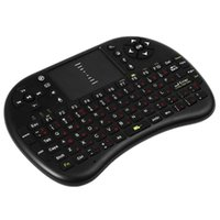 Wholesale M2S High Quality GHz Wireless QWERTY Keyboard Touchpad with Receiver for HTPC PS3 Xbox360 RUSSIAN OR ENGLISH VERSION