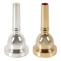 Wholesale DEG AL Large Shank Alto Trombone Mouthpiece Silver Gold Optional