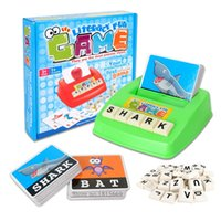 abc exercise - Matching letter game Alphabet Letters Card word game Learn English Word ABC Puzzle Children Educational Toys Learning Machines