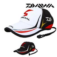 Wholesale Summer Adult Men Adjustable Fishing Sunshade Hat outdoor Sport Baseball Fisher men Hat Cap Black Special Bucket Hat With Letter