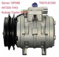 Wholesale Denso P08E AC Compressor for Kubota Tractor Farm PN T0070