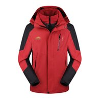 Wholesale Winter Softshell Jacket Men Outdoor Sport Thick Mens Jackets Male Waterproof Windproof Thermal Jackets For Camping Ski
