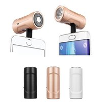 Wholesale mini USB Shaving Razors for iPhone Android Portable Razors with Flashlight