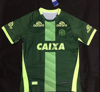 Wholesale 16 Chapecoense Home Away rd Soccer Jerseys Best Quality Discount Cheaper Chapecoens FORCACHAPE Soccer Jersey Football Jerseys