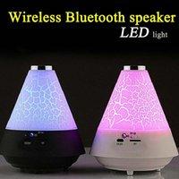 audio gift goods - Creative new colorful Nightlight LED wireless Bluetooth stereo lamp gift mini speaker sound super good