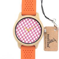 Classic Relojes de bambú para mujer Relojes de lujo Relojes de pulsera de cuarzo de Japón Relojes de madera de bambú para mujer SY-WD212