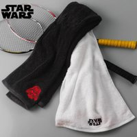 animal print hand towels - 2017 Hot Sales New Arrival Creative Cartoon Cute Star Wars Darth Vader Cartoon Face Hair Sport Hand Storm trooper Towe TOP1504