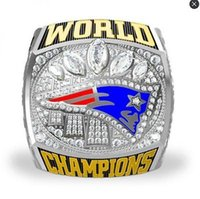 Wholesale New super bowl patriots championship ring fan memorial gift for friends