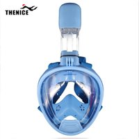 Wholesale 2016 Kid New Wide View Anti Fog Scuba Snorkeling Dive Gear Snorkel Equipment Diving Mask With Camera Mount Children Gift For Christmas