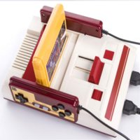 Wholesale TV Game Player FC Classic Red White Video Game Consoles CoolBady Video Game Console RS Yellow Card Plug in Card Games B0