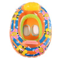 Wholesale Cute Kids Baby Child Inflatable Swimming laps Pool Swim Ring Seat Float Boat Water Sports