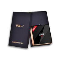 Wholesale H96 Pro Amlogic S912 Octa Core Android6 TV BOX GB GB Octa Core m LAN G G WiFi BT4 Kodi