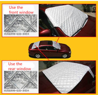 Wholesale HOT Car Window Sunshade Snow Cover For SUV And Ordinary Sun Shade Reflective foil