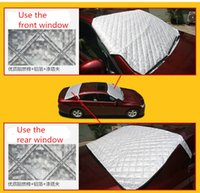 Wholesale NOT Car Window Sunshade Snow Cover For SUV And Ordinary Sun Shade Reflective foil