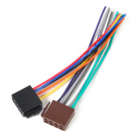 cheap car stereo wire connectors shipping car stereo wire new universal iso wire harness female adapter connector cable radio wiring connector adapter plug kit for auto car stereo system