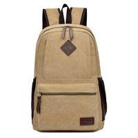 Women army bucket - Fashion models large capacity canvas backpacks Duffle Bag storage bags travel school book bags daypacks customized Logo